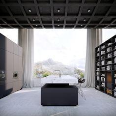 Deze bizarre woning is een genot van door ware minimalist - Manners Magazine
