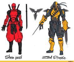 League of Legends,Лига Легенд,фэндомы,Shen,Zed,Deadpool,Дэдпул, Уэйд…