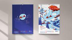 Календарь 2017 «Арктика. Мифы и реальность» on Behance