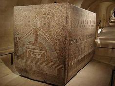 Sarcophagus of Ramses III: LOUVRE