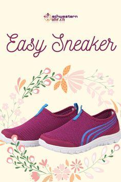 Frühlingsgefühle 🤩🌷Easy Sneaker. Die Sneaker für Pflegepersonal sind super bequem und ganz leicht. So kommst du problemlos durch den ganzen Tag. Gönne deinen Füssen etwas - Gehen wie auf Wolken. Nie wieder müde Füsse! Jetzt bei schwesternuhr.ch bestellen - Ohne Versandkosten. Schweizer Unternehmen.  #schwesternuhrch #schwesternschuhe  #sneaker #easysneaker #pflege Super, Easy, Running Shoes, Slip On, Sneakers, Fashion, Lilac, Comfortable Work Shoes, Comfortable Shoes