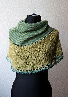 Carradal Shawl Workshop at Black Sheep Knitting. LOTS of yarn and color choices! Carradal-3_small2
