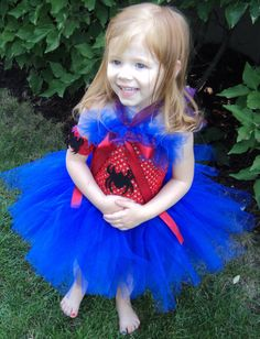 Spiderman Halter Tutu Dress by UneeklyUurs on Etsy, $35.00