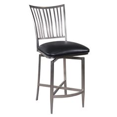 Shop for Somette Brushed Nickel Swivel Bar Stool. Get free shipping at Overstock.com - Your Online Furniture Outlet Store! Get 5% in rewards with Club O!