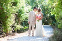 Danielle & Andy {Wild Dunes} #WildDunesWeddings http://wilddunesweddings.com; Photographer:  liz duren photography; Floral: Out of the Garden