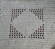 Free Filet Crochet Patterns You Should Try: Filet Crochet Diamond Square