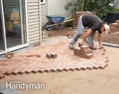 How to Cover a Concrete Patio With Pavers - Step by Step: The Family Handyman