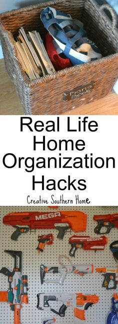 Easy real life home organization hacks are proven to easily make your home feel … – dollar store office organization Organisation Hacks, Organizing Hacks, Office Organization At Work, Organizing Your Home, Organising, Household Organization, Real Life, Real Real, Housekeeping Tips
