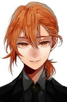 Anime Art Girl, Manga Art, Fate Anime Series, Anime Hair, Brown Hair Anime Boy, Boy Art, Cute Anime Guys, Haikyuu Anime, Character Design Inspiration