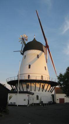 Old Wind Mill, Bornholm, Denmark.   THE LIBYAN Esther Kofod www.estherkofod.com