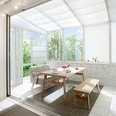 LIXIL | ガーデンルーム | ココマ | 特長