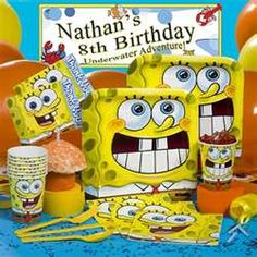 Spongebob Birthday Party - Spongebob Party Supplies