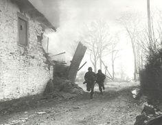 Paratroopers in the Bulge, 44/45. I had two uncles who were paratroopers in this battle.
