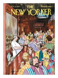 The New Yorker Cover - November 27, 1971 Poster Print by Charles Saxon at the Condé Nast Collection