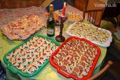 JEDNOHUBKY Czech Food, Czech Recipes, Snack Recipes, Snacks, Waffles, Appetizers, Meals, Breakfast, Snack Mix Recipes