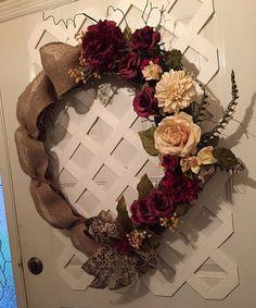 Tuscan Wreath - Front Door Wreath - Mother's Day Wreath - Door- Fireplace Mantel - Spring Wreath - Summer Wreath -  Elegant Wreath - Rustic