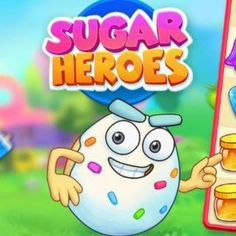 Free Match-3 Browser Game - Sugar Heroes is a fantastic match 3 game with beautiful graphics and fun characters. #browsergame #freegames #gaming #match3 #candy #game #webgame Free Match, Match 3 Games, Free Games, Gaming, Challenges, Sugar, Graphics, Candy, Fun