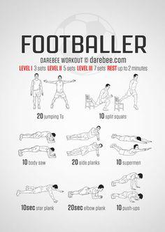 Footballer Workout