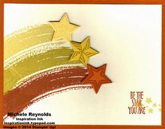 Be the Star Swooshes by Michelerey - Cards and Paper Crafts at Splitcoaststampers