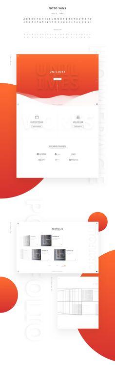 다음 @Behance 프로젝트 확인: \u201cUnilimes\u201d https://www.behance.net/gallery/49409945/Unilimes