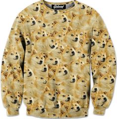 d3a30747 Doge Sweatshirt Doge Meme, Beloved Shirts, Rave Outfits, Cool Outfits, Crew  Neck