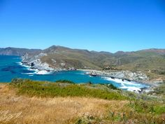 Catalina Island is a gorgeous place to camp near crystal blue waters and go kayaking. Get more information here.