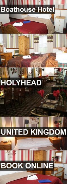 Boathouse Hotel in Holyhead, United Kingdom. For more information, photos, reviews and best prices please follow the link. #UnitedKingdom #Holyhead #travel #vacation #hotel