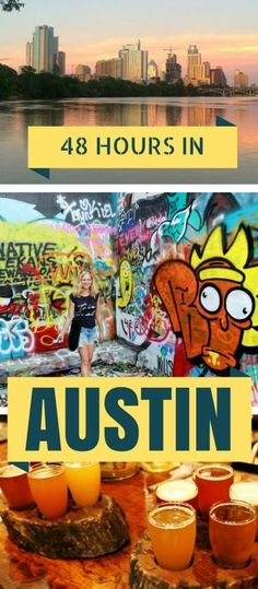 The Perfect 48 Hours in Austin, Texas - including the best food trucks, speakeasies, rooftop bars, walking and biking trails and street art | Globetrotter Girls