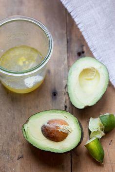 Honey Lime Avocado Dressing