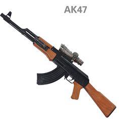 Simulasi AK47 Mainan Pistol Air Plastik Pistol Mainan Senapan Sniper Blaster Air Inframerah Peluru Lembut Peluru Arme Orbeez Anak Boy hadiah