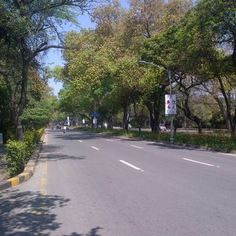 A beautiful view of The Mall Road