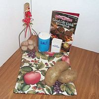 Apples and Butterflies Tater Baker Bag for Microwave