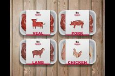 ideas for meat icon butcher shop Meat Butcher, Butcher Shop, Food Packaging Design, Packaging Design Inspiration, Clever Packaging, Coffee Packaging, Bottle Packaging, Packaging Ideas, Food Design