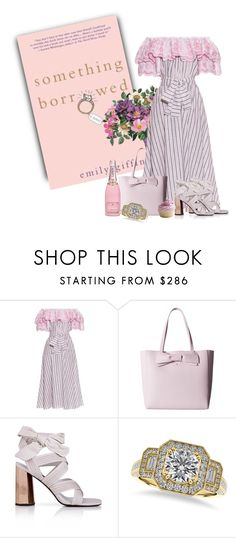 """Emily Giffin - Something Borrowed"" by kimzarad1 ❤ liked on Polyvore featuring Kate Spade, Senso and Allurez"