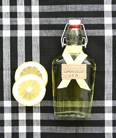 Best Homemade Limoncello - you'll need 1 (750 ml) bottle vodka (cheap stuff is fine), zest of 10 - 12 lemons, peeled in wide strips, 2 c. granulated sugar.