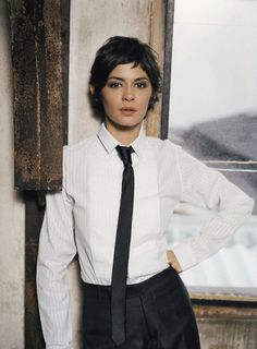 Audrey Tautou. Brilliant Actress. Gorgeous. <3
