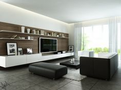 A simple Modern Living Room can be created instantly with a DirectBuy membership!