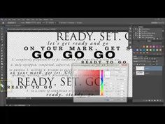 Creating Ombre Colored Word Art in Photoshop and PSE [Video] - Digital Scrapbooking Blog and scrapbook inspiration From DesignerDigitals