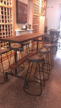 Rustic Bar Tables