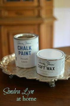 China Cabinet Chalk Paint Makeover- Sondra Lyn at Home