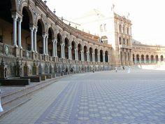 Spain - seville: Giralda tower, the neighboring Alcazar castle and garden complex, Plaza de España - Top 10 Things to Do in Spain