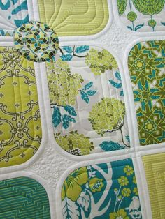 The Quilting Mill: Blogger's Quilt Festival: Prairie Petals Quilt in Birch Farm