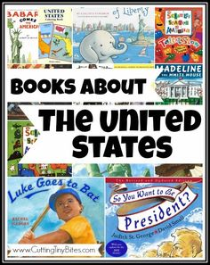 Children's books about the United States.  Great for an Independence Day theme or an American unit.  Reviews of each!