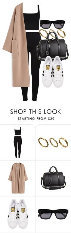 """Style #11429"" by vany-alvarado ❤ liked on Polyvore featuring Made, adidas Originals and CÉLINE"
