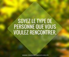 Soyez le type de personne que vous voulez rencontrer.  http://ift.tt/1hbAx37