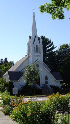 Bellaire Community United Methodist Church.  Bellaire, Michigan.