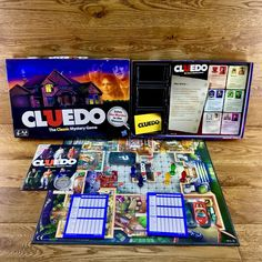 cluedo The Classic Mystery board game Hasbro 2011 solve the murder detective vgc Mystery Board Games, Game Title, Game Sales, Up Game, Educational Games, Family Games, Game Character, Party Games, Detective