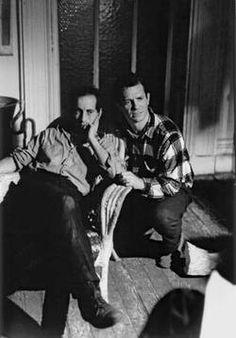 Robert Frank & Jack Kerouac - photo by john cohen