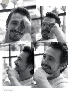 That smile get's me every time. James Franco #Jamesfranco