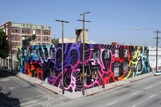 INSA   9300 SQ FT Mural In Los Angeles